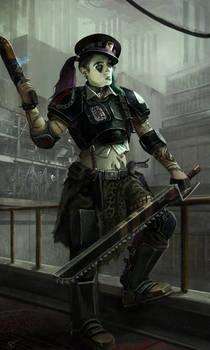7TH Necromunda colonel