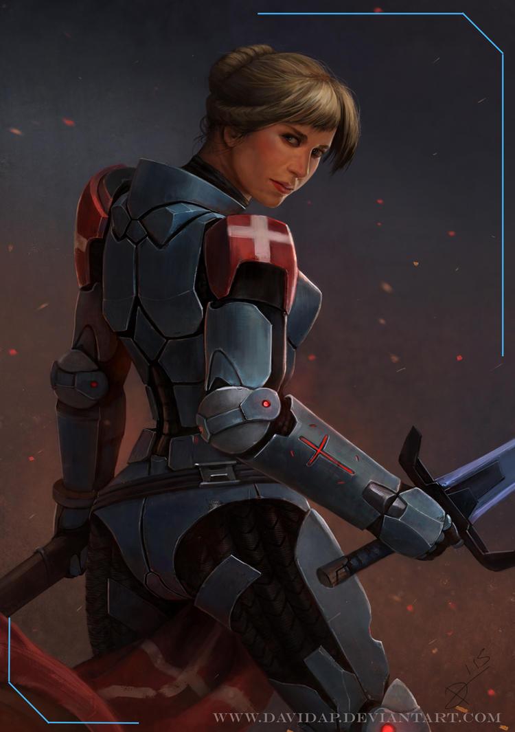 Infinity Jeanne D Arc by DavidAP