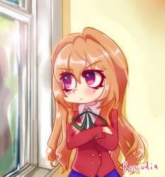 Aisaka Taiga - Through the Window by Rencudia