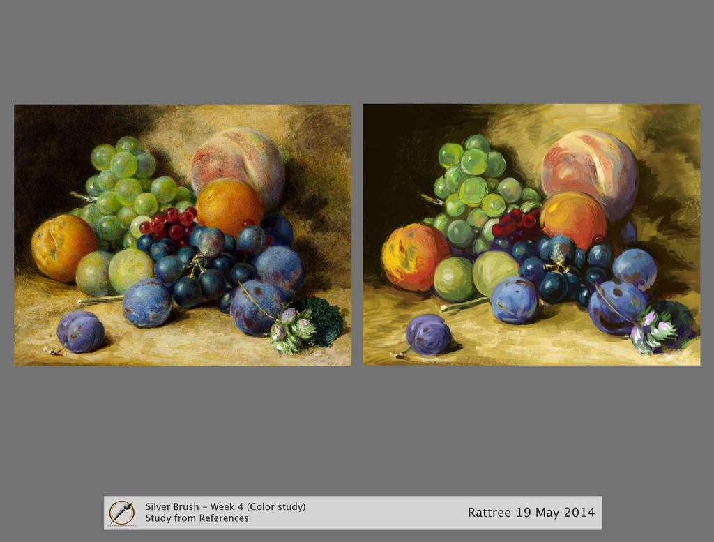 Too colorful are the grapes - Color study by rattree
