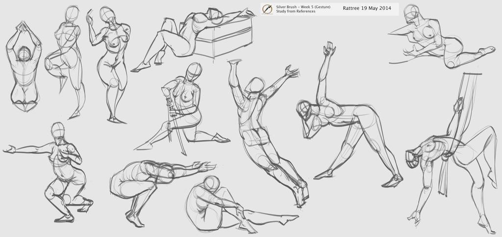 more gesture practice 5mins each by rattree