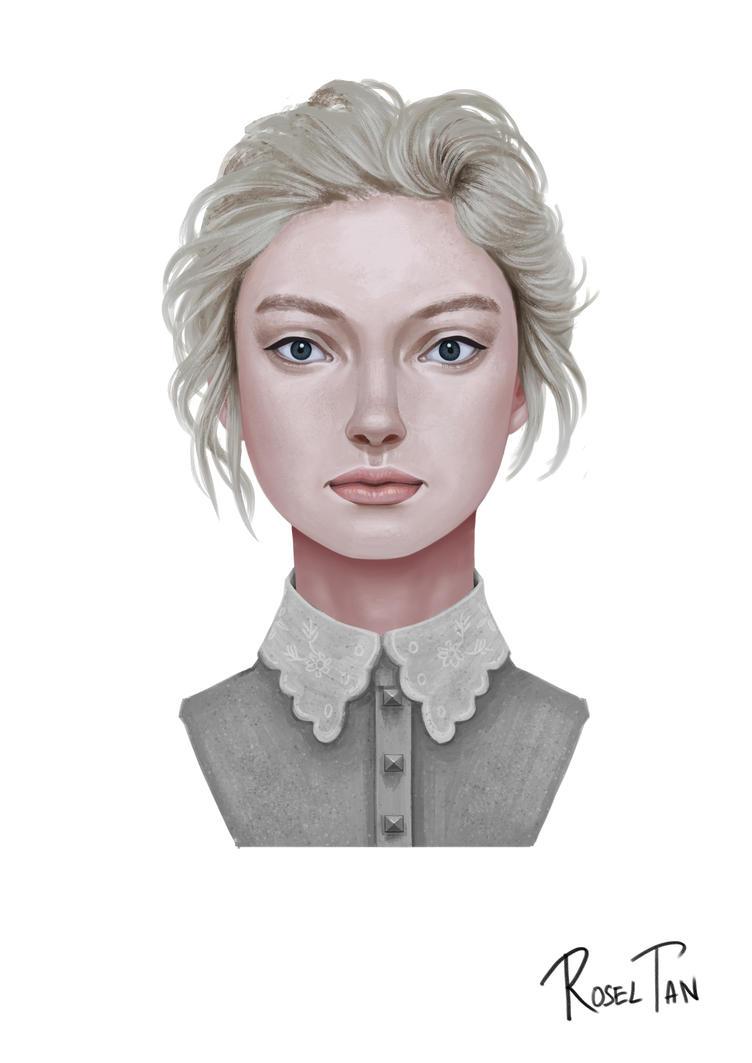 Lady Portrait #2 by rattree