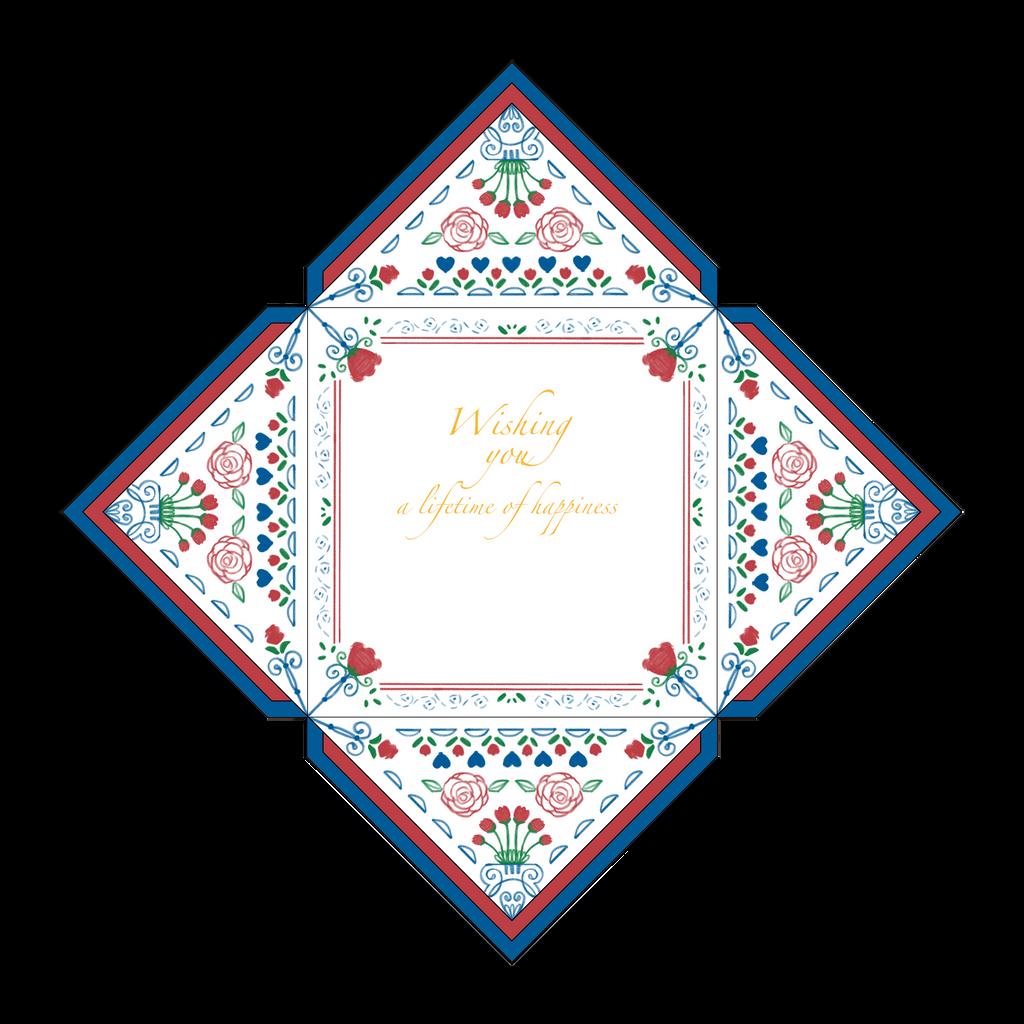 Congratulation Wedding Card (Interior) by rattree
