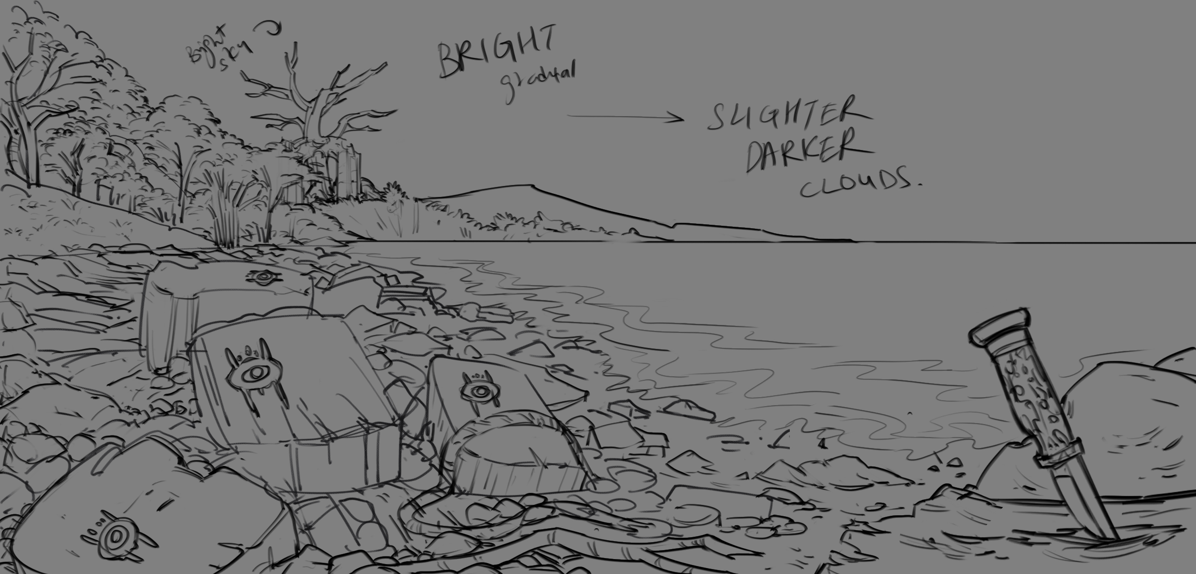 All survival stories start at the beach...right? by rattree