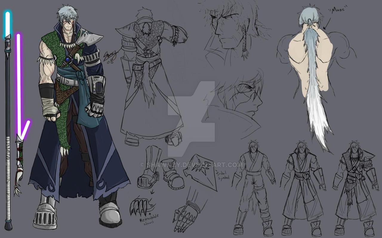 Rogue Jedi Shada Maeul -Ref- by Shawnzy