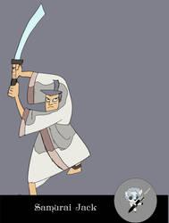 Samurai jack by AlexNewmenn