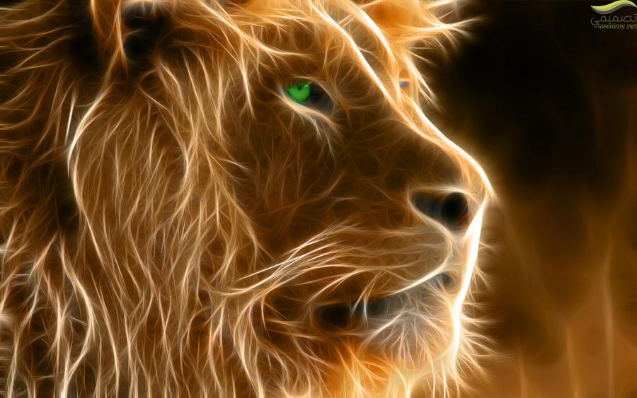 3d lion 1280 - photo #36