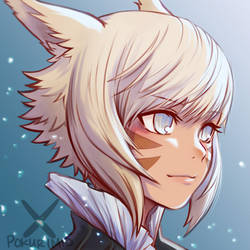 Y'shtola Redraw attempt 3 by PokuriMio