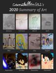 2020 Art Summary of (camsteelfan261art)