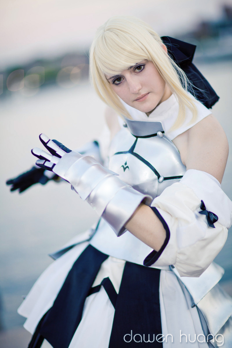 Saber Lily by spazzer-bot