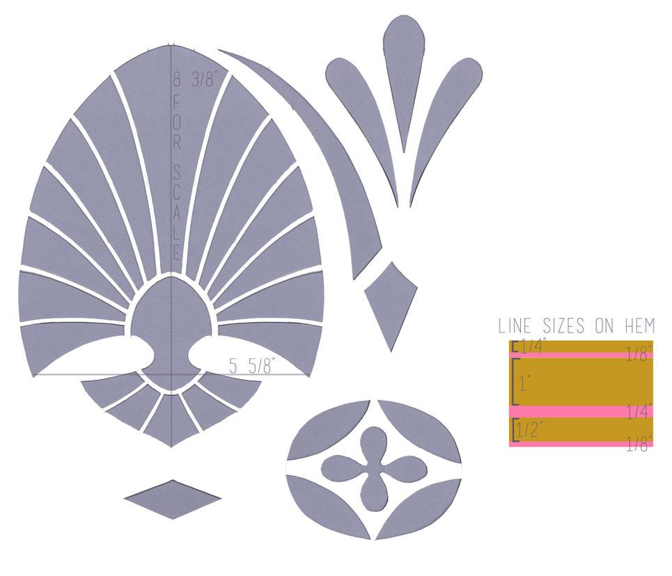 Hyrule Warriors Zelda Skirt Pattern by spazzer-bot