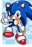 The Classic Blue Sonic