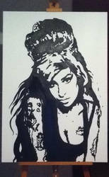 Back to Black 1 - 115x80 by PaintingsMaevaB