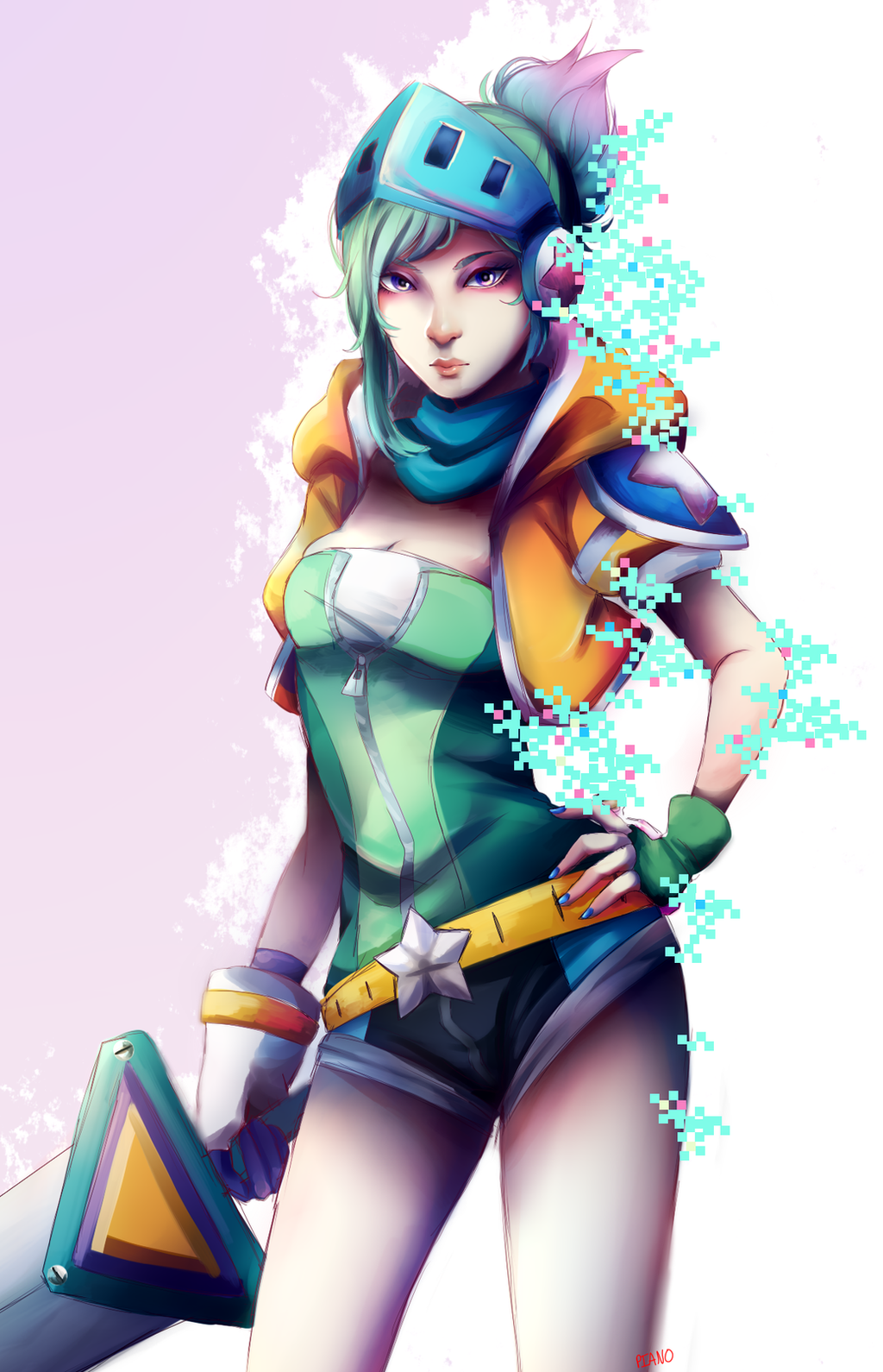 Riven - League of Legends Fan Art