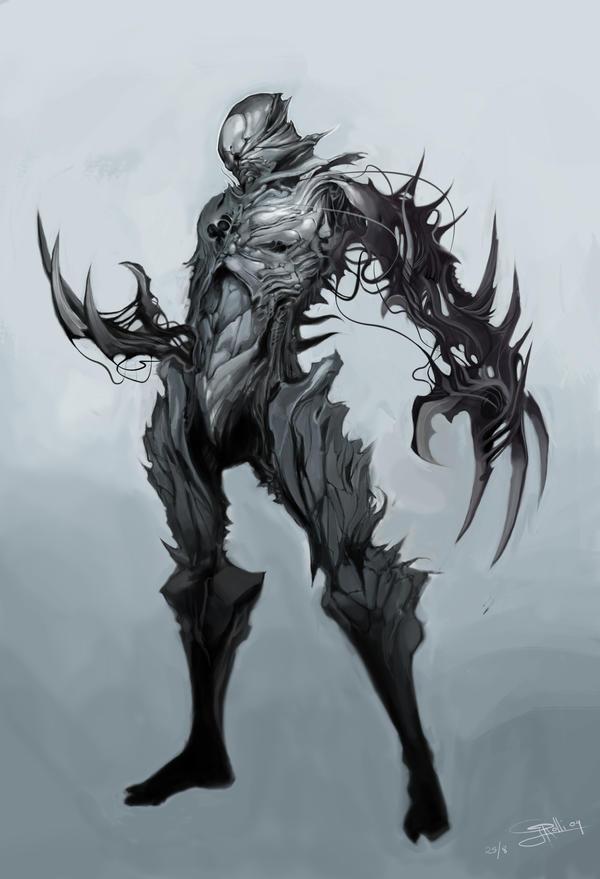 armour artwork claws dark - photo #5
