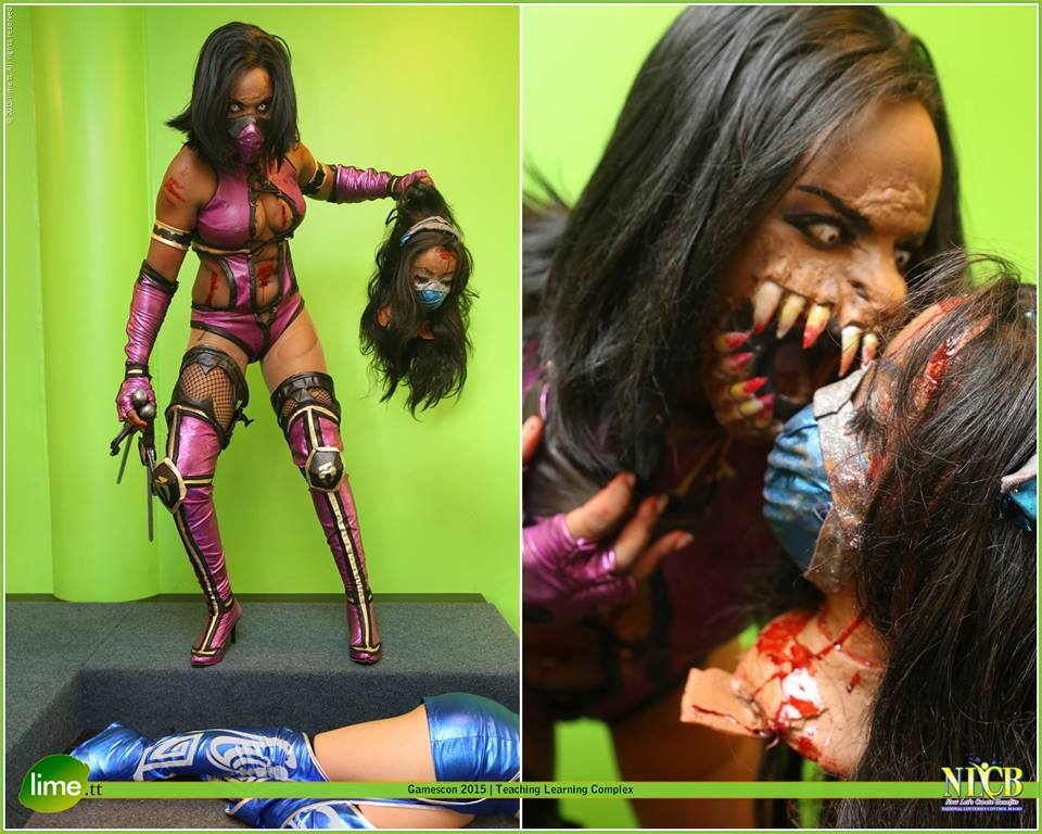 mileena sexy cosplay boobs