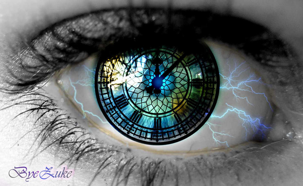 Clock Eye by byezuke