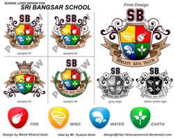 Sri Bangsar School Logo by dracozerocool