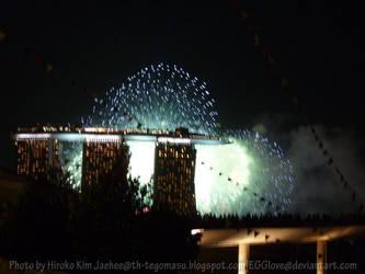 Blue Firework by EGGlove