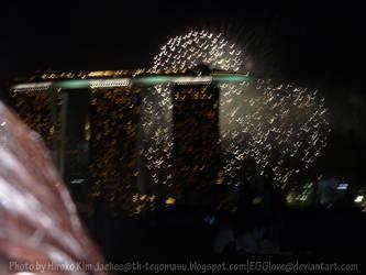 Heart Firework by EGGlove