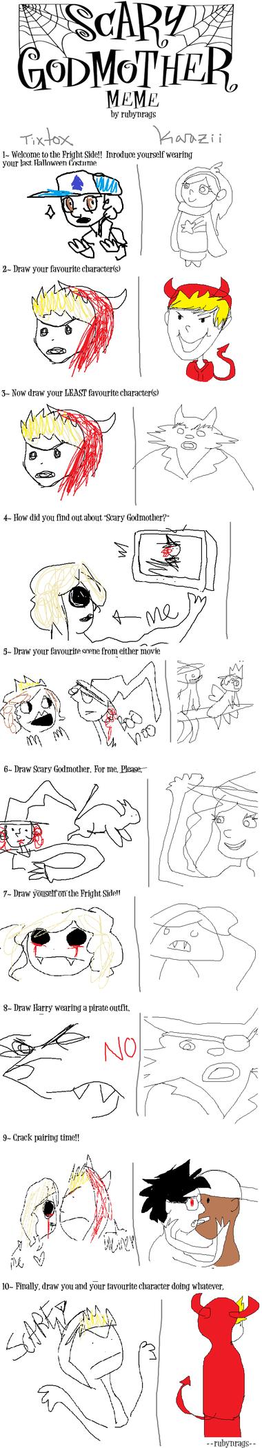 Scary Godmother Meme by karazii