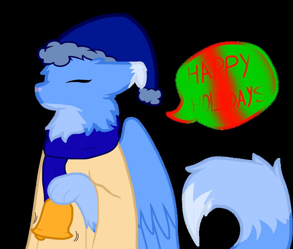 .:Happy Holidays:. by halothekittycat