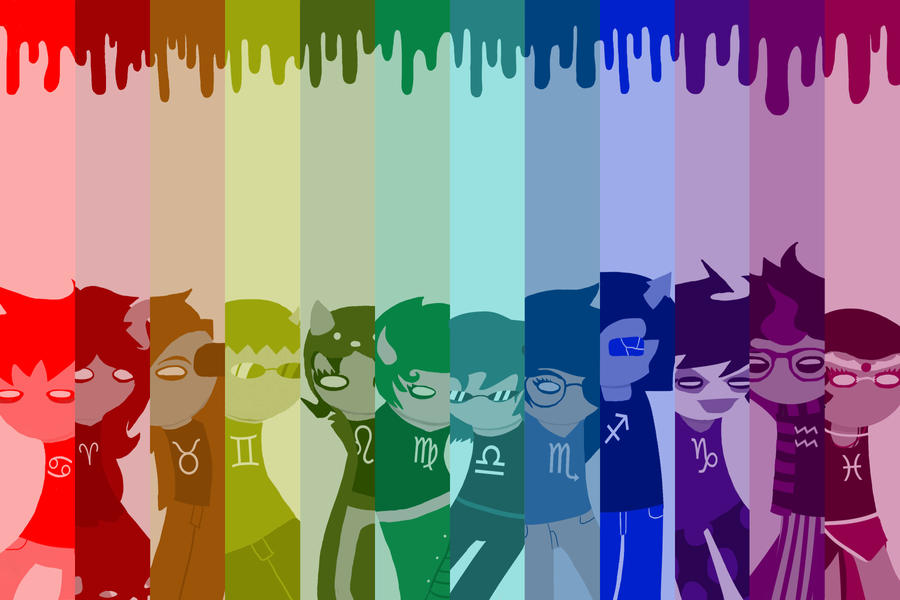 Homestuck Troll Poster by peachmix