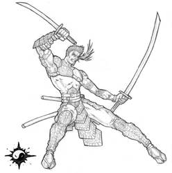 Kollin Battle Pose by cityofsecrets