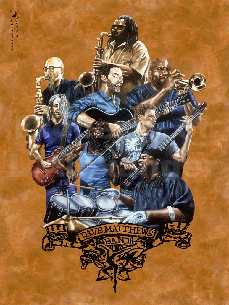 Dave Matthews Band by Xander7