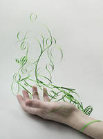 Earth (Paper Elements) by dinabelenko