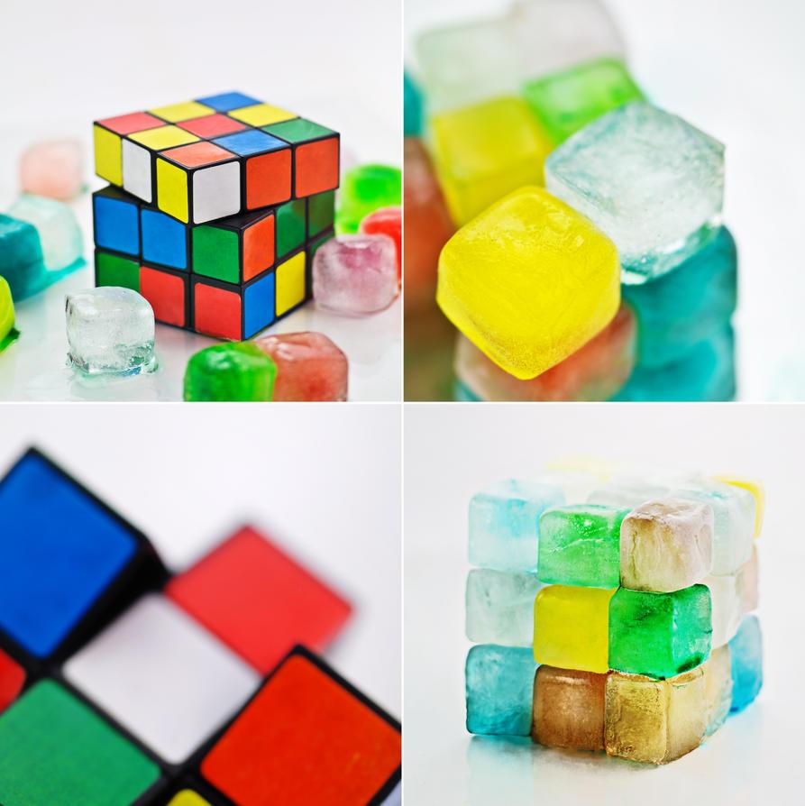 Rubik's Ice Cube by dinabelenko