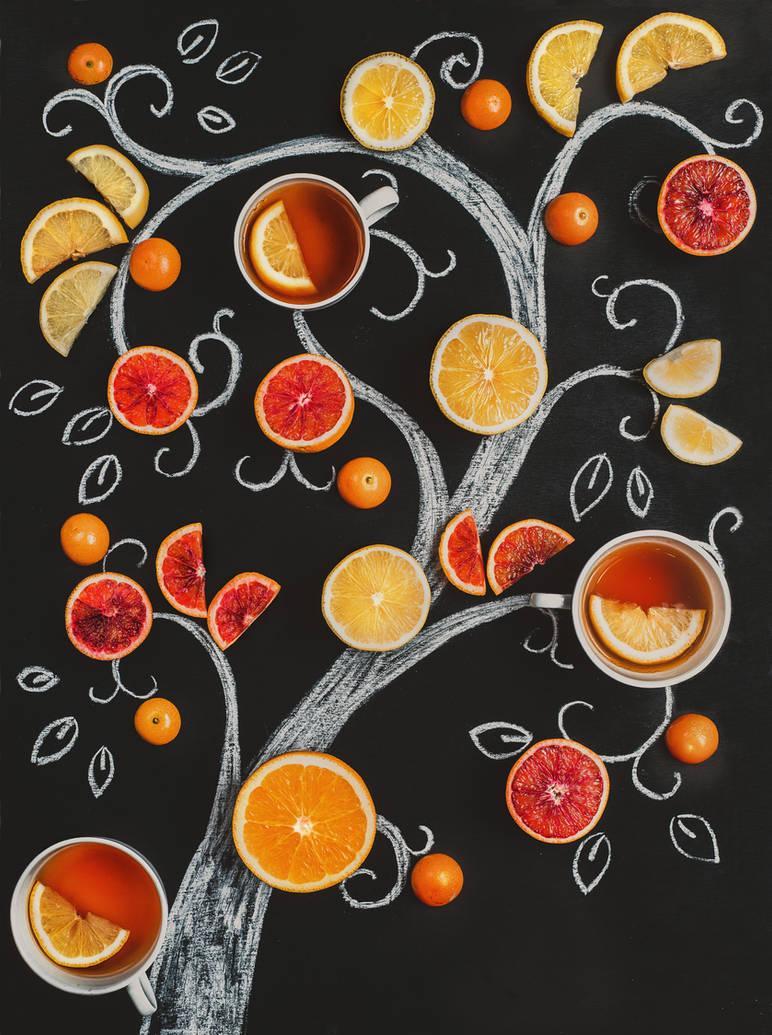 Tea tree by dinabelenko