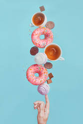 Weekend donuts by dinabelenko