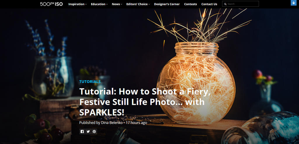 Sparkler Tutorial by dinabelenko