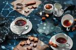 Starry night tea party
