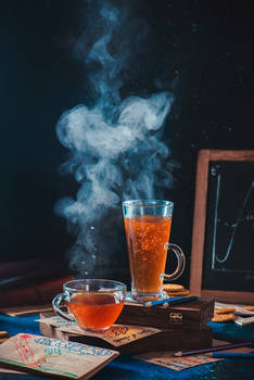 Cloudy day tea
