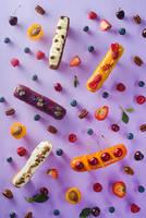 Sweet patterns: eclair by dinabelenko