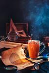 Steampunk tea (with a hot air balloon)