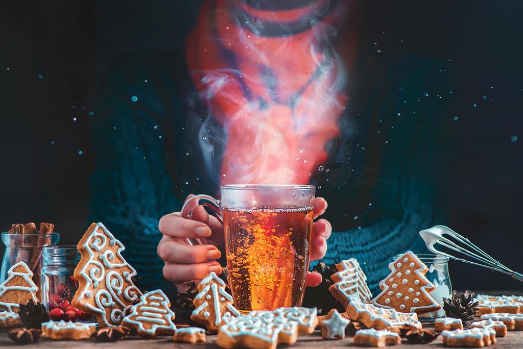 Christmas Night Cookies by dinabelenko
