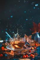 Autumn Teatime by dinabelenko