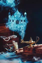 Arabic castle by dinabelenko