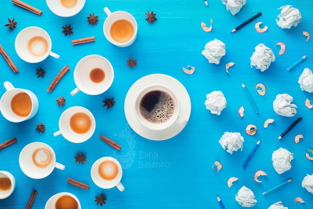Coffee Pattern by dinabelenko