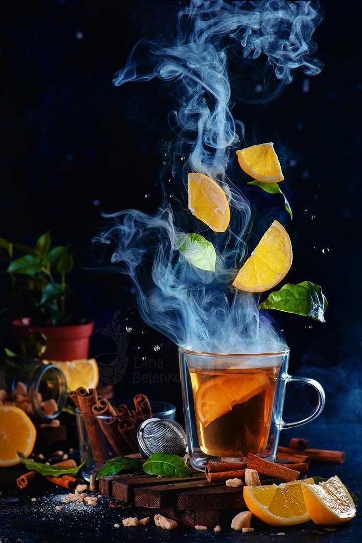 Lemon tea (Really Hot) by dinabelenko
