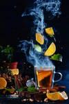 Lemon tea (Really Hot)
