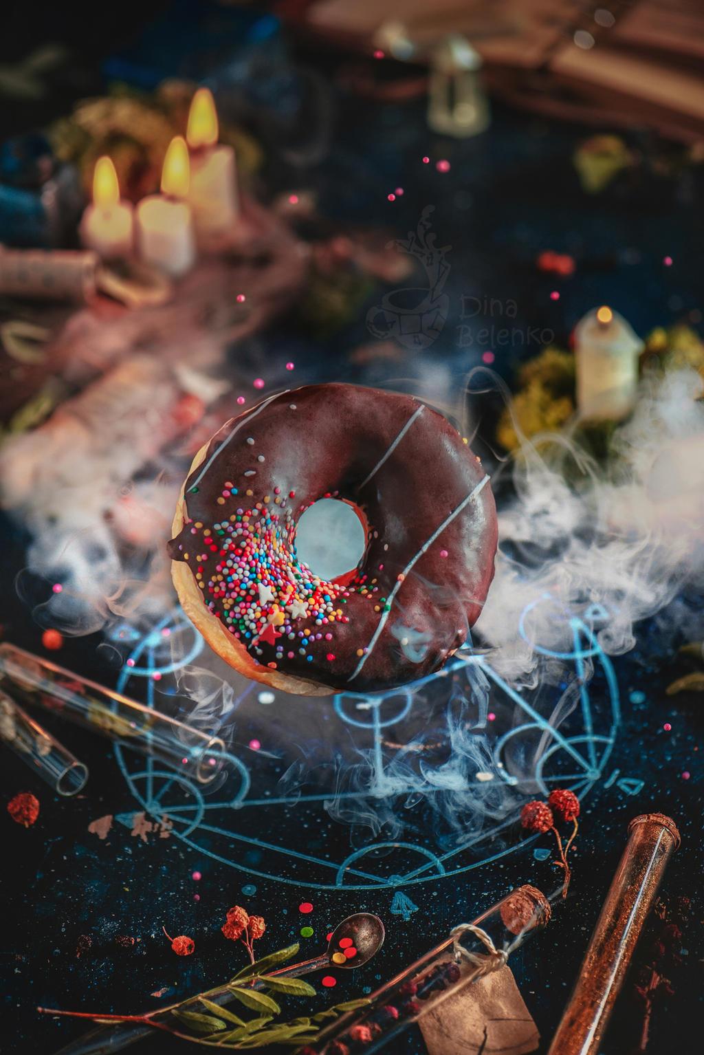 Alchemy Donut by dinabelenko