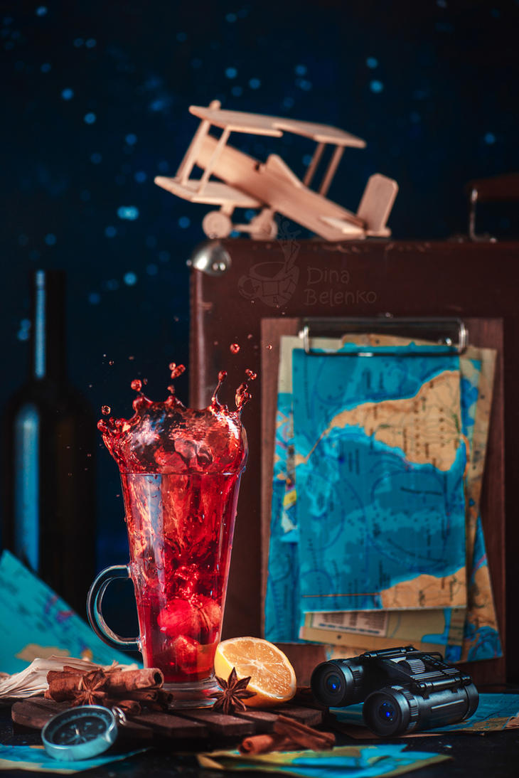 Drink for travellers by dinabelenko
