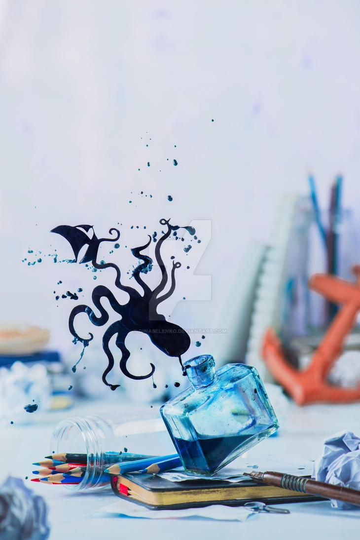 Stories of Ink: Under water by dinabelenko