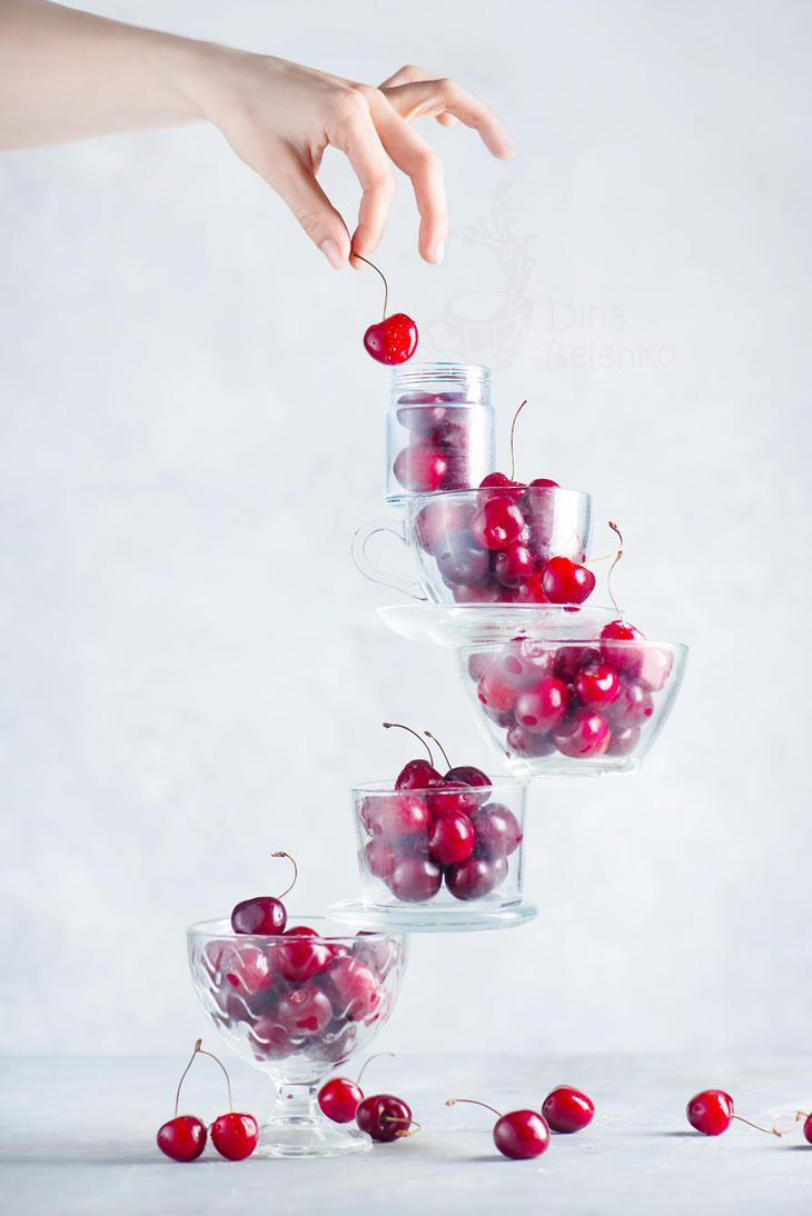 Cherry on top by dinabelenko
