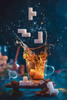 Tetromino tea (1) by dinabelenko