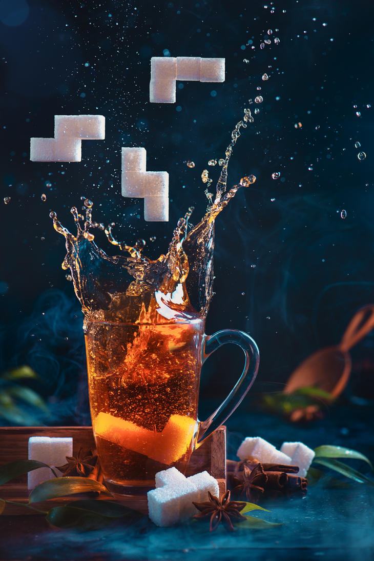 Tetromino tea (3) by dinabelenko